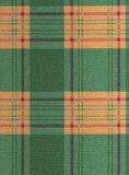 Cloth. Texture green and orange as background Stock Image