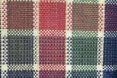 Cloth. A cloth paintings blue green red and white Royalty Free Stock Image