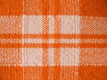 Cloth. A cloth paintings orange and white Royalty Free Stock Image