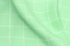 Cloth. Isolated piece of green cloth stock photos