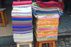 Cloth in asia street market Royalty Free Stock Photo