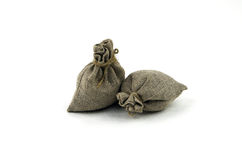 Cloth bag Stock Image