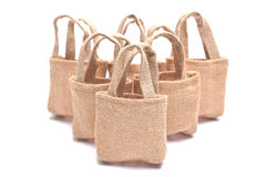Cloth bags Royalty Free Stock Images