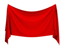 Cloth banner Stock Image