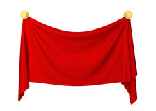 Cloth banner Royalty Free Stock Photos