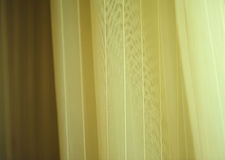 Cloth blinds Stock Image