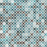 Cloth blue seamless pattern Royalty Free Stock Photo