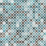 Cloth blue seamless pattern Royalty Free Stock Photo