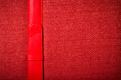 Cloth book cover Stock Images
