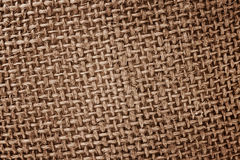 Cloth burlap texture Royalty Free Stock Photo
