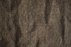 Cloth burlap texture Royalty Free Stock Photo