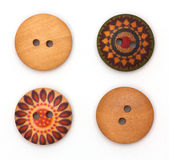 Cloth button Stock Image