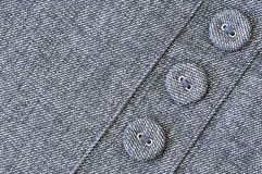 Cloth with buttons. Stock Photos
