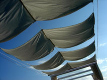 Cloth Ceiling Stock Photography