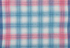 Cloth with checks Stock Image