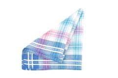 Cloth with checks Stock Photos