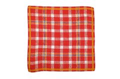 Cloth with checks Royalty Free Stock Photos