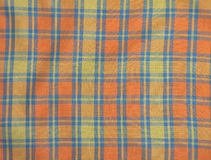 Cloth with checks Royalty Free Stock Photo