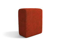 Cloth cube Royalty Free Stock Photography