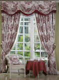 Cloth curtain. Eastphoto, tukuchina, Cloth curtain, Indoor Environment Stock Images