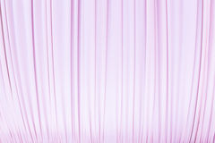 Cloth curtain in pastel pink colour Stock Photo