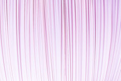 Cloth curtain in pastel pink colour Royalty Free Stock Photo