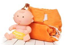 Cloth diaper Royalty Free Stock Photo