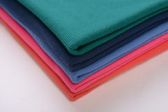 Cloth with different color made by cotton fiber Stock Photo