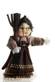 Cloth doll Epifany witch Stock Photography