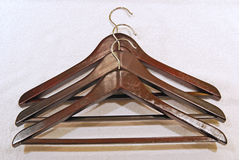 Cloth drying hanger Royalty Free Stock Image