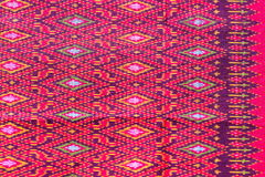 Cloth fabric color Thai asian culture Royalty Free Stock Images