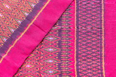 Cloth fabric color Thai asian culture Stock Image