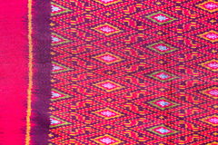 Cloth fabric color Thai asian culture Stock Photos