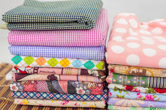 Cloth fabric Royalty Free Stock Photos