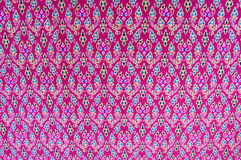 Cloth fabric Thai Royalty Free Stock Photos