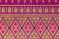Cloth fabric Thai. Stock Photo