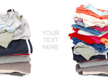Cloth files Stock Images