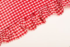 Cloth with flounce Stock Image