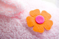 Cloth flower Stock Photography