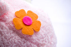 Cloth flower Royalty Free Stock Image