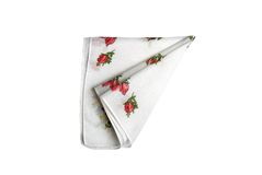Cloth with flowers Royalty Free Stock Photo