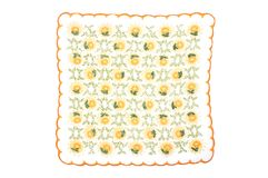 Cloth with flowers Stock Photography