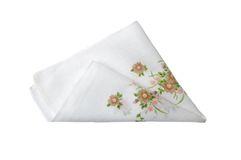 Cloth with flowers Stock Photos
