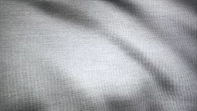 Cloth flutters. Waves of canvas animation. Background of satin fabric. Fabric background animation fluttering in the royalty free stock photo