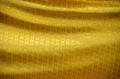 Cloth of gold. Royalty Free Stock Photography