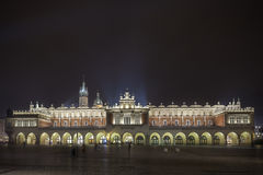 Cloth Hall in the City Center of Cracow Stock Photography