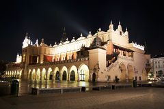 Cloth Hall in Cracow Stock Photos