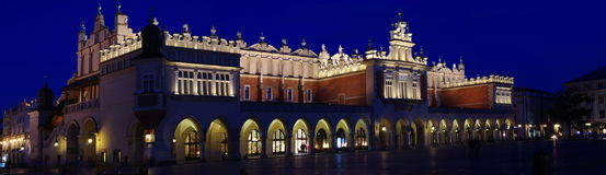 The Cloth Hall. (Sukiennice) in Krakow on the main market square Stock Image