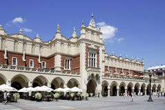 Cloth Hall of Krakow in Poland Stock Photo