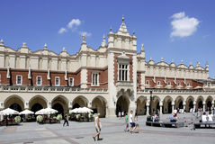 Cloth Hall of Krakow in Poland Stock Image